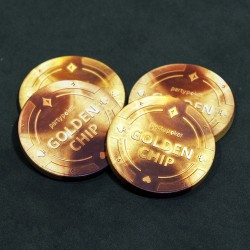 Party Poker Golden Chip